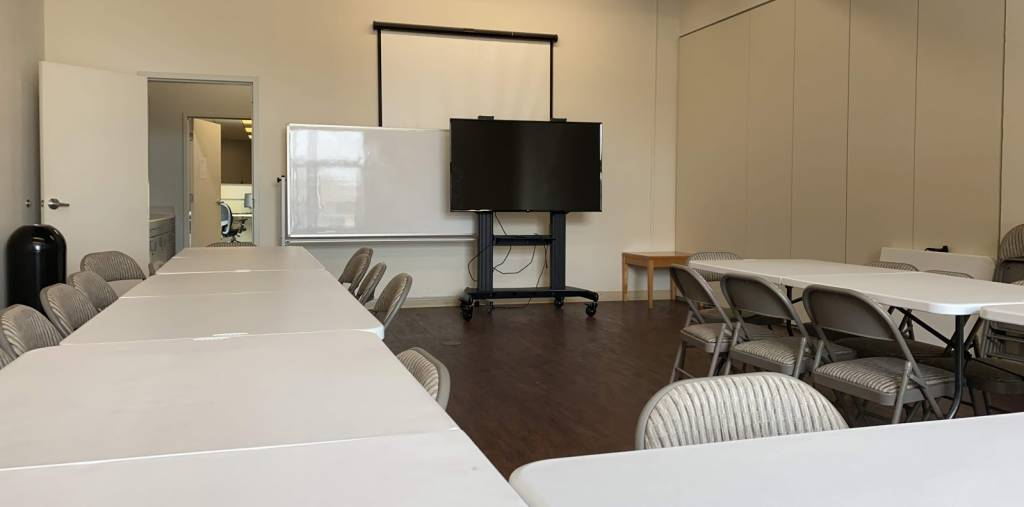 Workshop and Meeting Space by the hour or day at the Silicon Valley Business Center