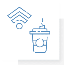 Free Coffee and High Speed Wireless Internet