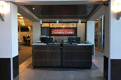Flex Desks at the Silicon Valley Business Center in San Jose