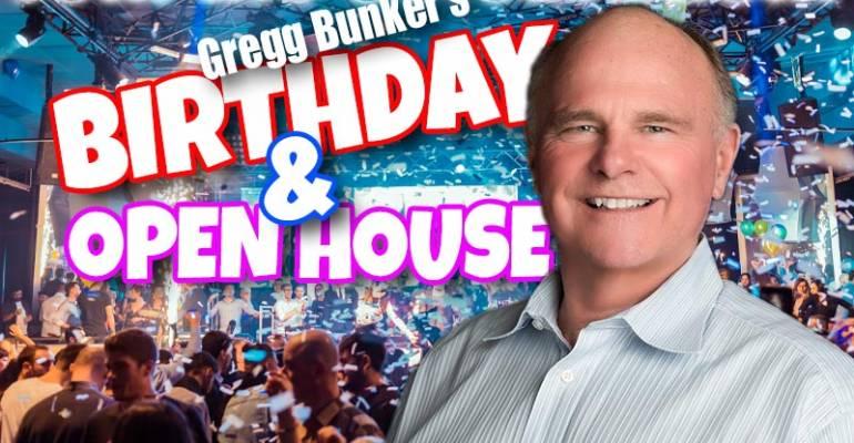 Gregg Bunker Birthday Mixer & Open House Party