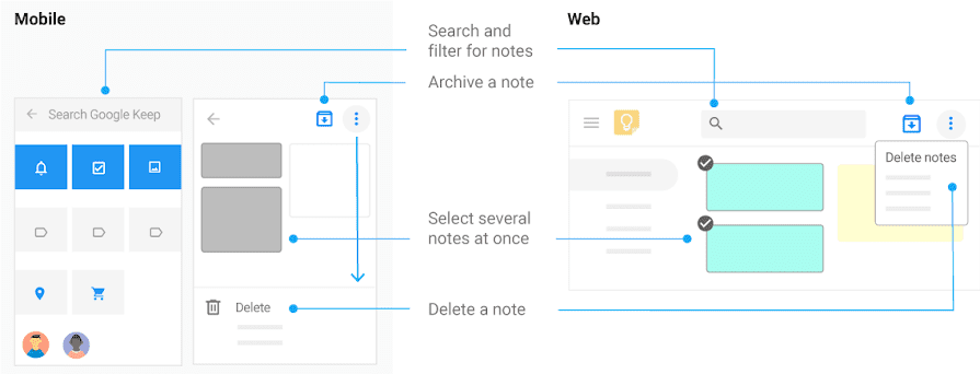 How to Work with Google Keep notes